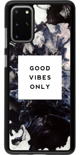 Coque Samsung Galaxy S20+ - Marble Good Vibes Only