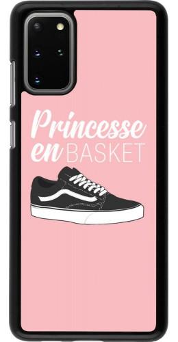 Coque Samsung Galaxy S20+ - princesse en basket