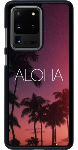 Coque Samsung Galaxy S20 Ultra - Aloha Sunset Palms