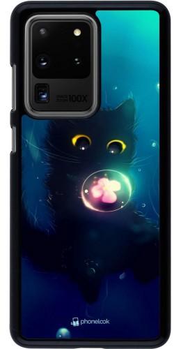 Coque Samsung Galaxy S20 Ultra - Cute Cat Bubble
