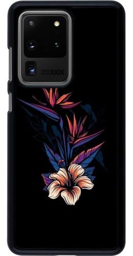 Coque Samsung Galaxy S20 Ultra - Dark Flowers