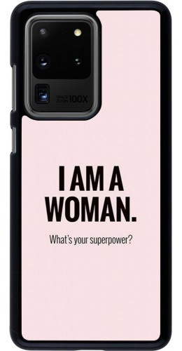 Coque Samsung Galaxy S20 Ultra - I am a woman