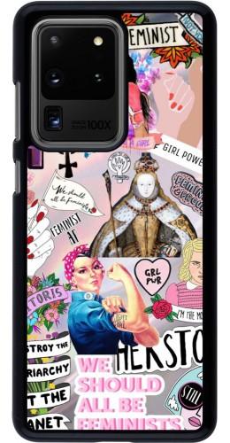 Coque Samsung Galaxy S20 Ultra - Girl Power Collage