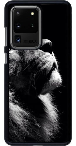 Coque Samsung Galaxy S20 Ultra - Lion looking up