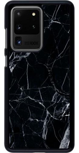 Coque Samsung Galaxy S20 Ultra - Marble Black 01