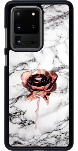 Coque Samsung Galaxy S20 Ultra - Marble Rose Gold