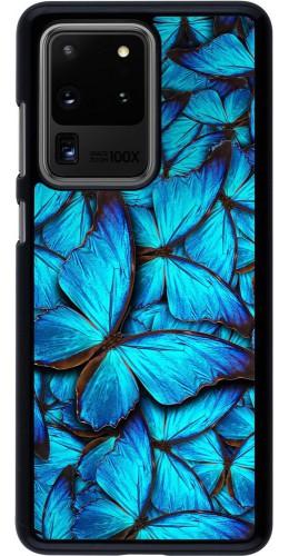 Coque Samsung Galaxy S20 Ultra - Papillon bleu