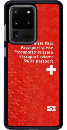 Coque Samsung Galaxy S20 Ultra - Swiss Passport