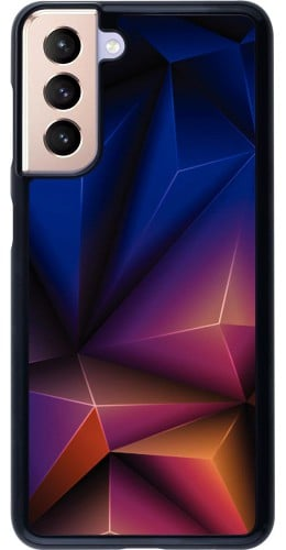 Coque Samsung Galaxy S21 5G - Abstract Triangles