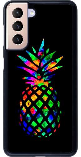 Coque Samsung Galaxy S21 5G - Ananas Multi-colors