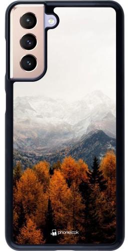 Coque Samsung Galaxy S21 5G - Autumn 21 Forest Mountain