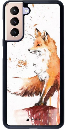 Coque Samsung Galaxy S21 5G - Autumn 21 Fox
