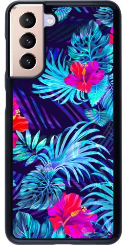 Coque Samsung Galaxy S21 5G - Blue Forest