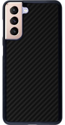 Coque Samsung Galaxy S21 5G - Carbon Basic