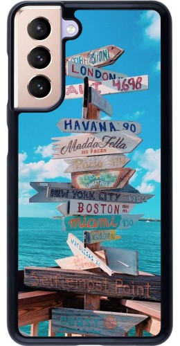 Coque Samsung Galaxy S21 5G - Cool Cities Directions