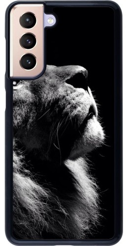 Coque Samsung Galaxy S21 5G - Lion looking up