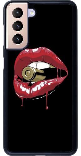 Coque Samsung Galaxy S21 5G - Lips bullet