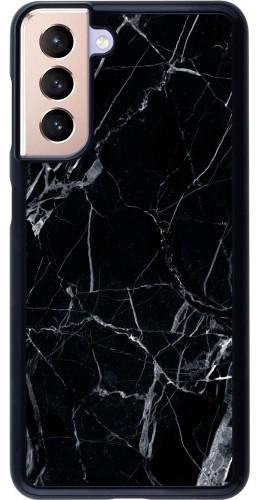 Coque Samsung Galaxy S21 5G - Marble Black 01
