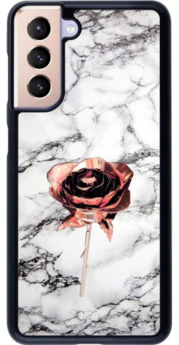 Coque Samsung Galaxy S21 5G - Marble Rose Gold