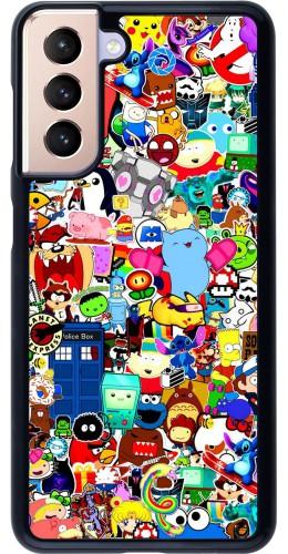 Coque Samsung Galaxy S21 5G - Mixed cartoons