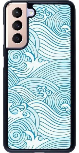 Coque Samsung Galaxy S21 5G - Ocean Waves
