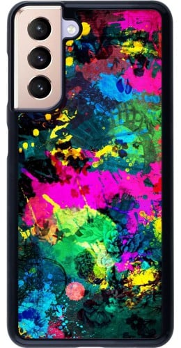 Coque Samsung Galaxy S21 5G - splash paint