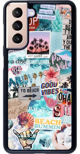 Coque Samsung Galaxy S21 5G - Summer 20 collage