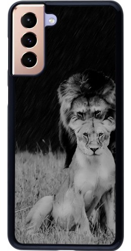 Coque Samsung Galaxy S21+ 5G - Angry lions