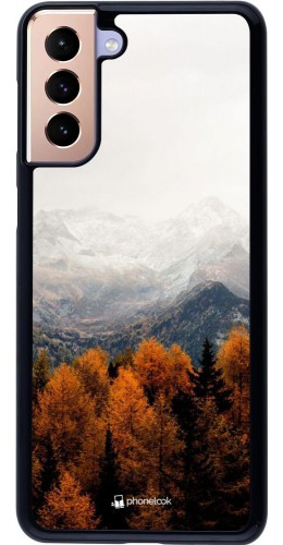 Coque Samsung Galaxy S21+ 5G - Autumn 21 Forest Mountain