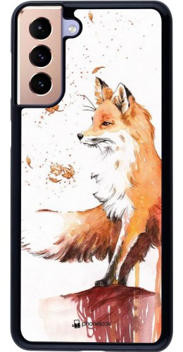 Coque Samsung Galaxy S21+ 5G - Autumn 21 Fox