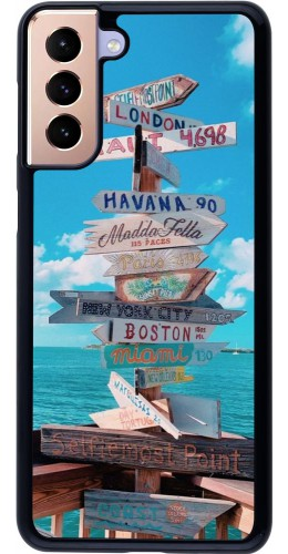 Coque Samsung Galaxy S21+ 5G - Cool Cities Directions