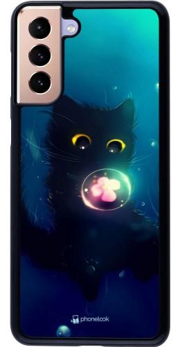 Coque Samsung Galaxy S21+ 5G - Cute Cat Bubble