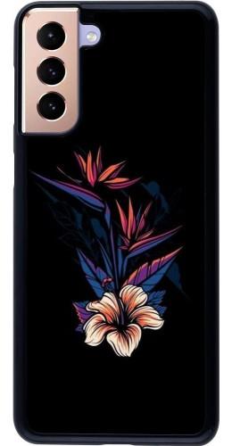 Coque Samsung Galaxy S21+ 5G - Dark Flowers