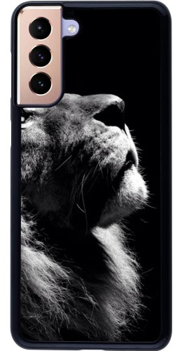 Coque Samsung Galaxy S21+ 5G - Lion looking up