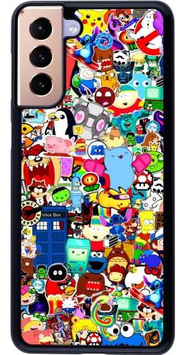 Coque Samsung Galaxy S21+ 5G - Mixed cartoons