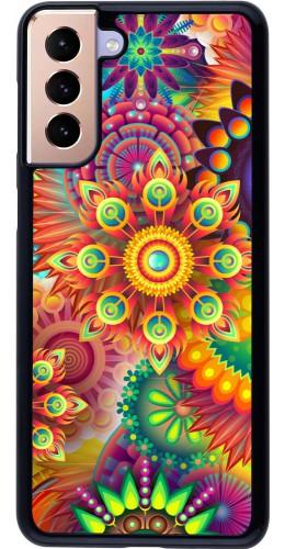 Coque Samsung Galaxy S21+ 5G - Multicolor aztec