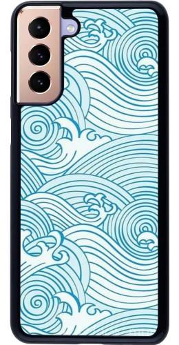Coque Samsung Galaxy S21+ 5G - Ocean Waves