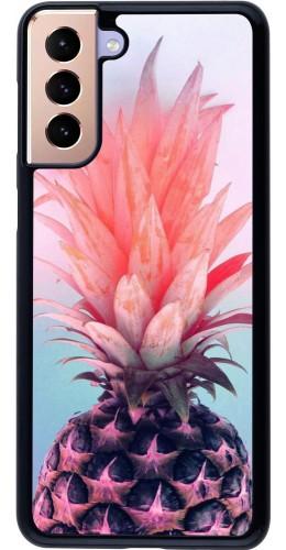 Coque Samsung Galaxy S21+ 5G - Purple Pink Pineapple