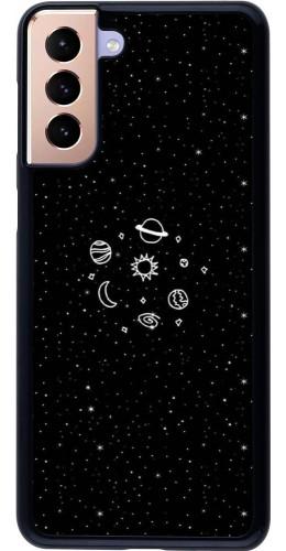 Coque Samsung Galaxy S21+ 5G - Space Doodle