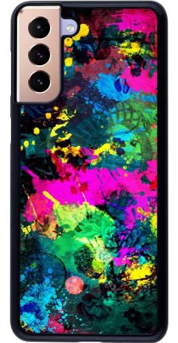 Coque Samsung Galaxy S21+ 5G - splash paint