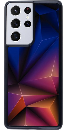 Coque Samsung Galaxy S21 Ultra 5G - Abstract Triangles