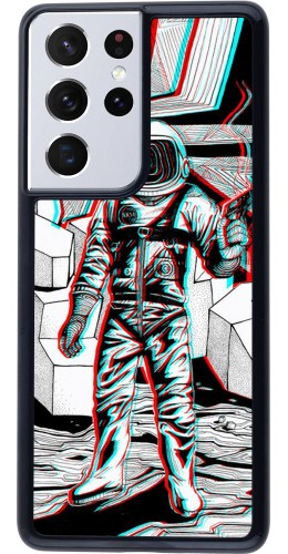 Coque Samsung Galaxy S21 Ultra 5G - Anaglyph Astronaut