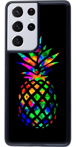 Coque Samsung Galaxy S21 Ultra 5G - Ananas Multi-colors