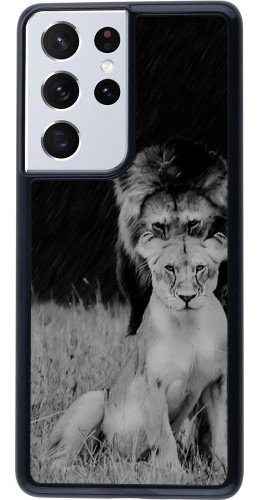 Coque Samsung Galaxy S21 Ultra 5G - Angry lions