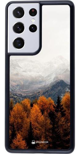 Coque Samsung Galaxy S21 Ultra 5G - Autumn 21 Forest Mountain
