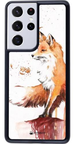 Coque Samsung Galaxy S21 Ultra 5G - Autumn 21 Fox
