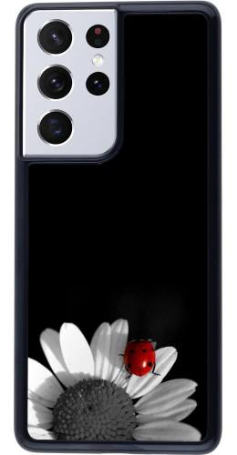 Coque Samsung Galaxy S21 Ultra 5G - Black and white Cox