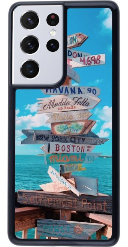 Coque Samsung Galaxy S21 Ultra 5G - Cool Cities Directions