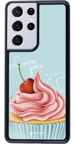 Coque Samsung Galaxy S21 Ultra 5G - Cupcake Love You