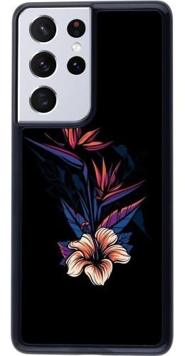 Coque Samsung Galaxy S21 Ultra 5G - Dark Flowers